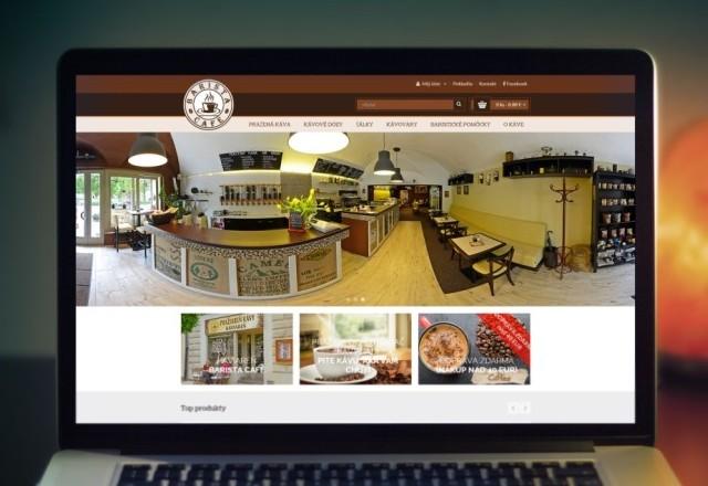 Barista café - pražiareň kávy - internetový obchod pre kaviareň a pražiareň