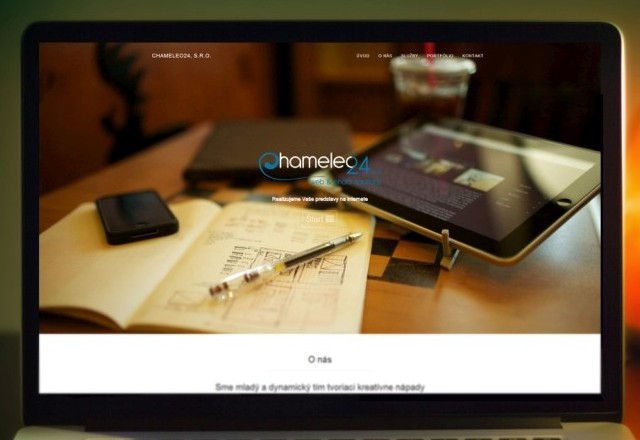 Chameleo24 s.r.o. - webstránka pre spoločnosť