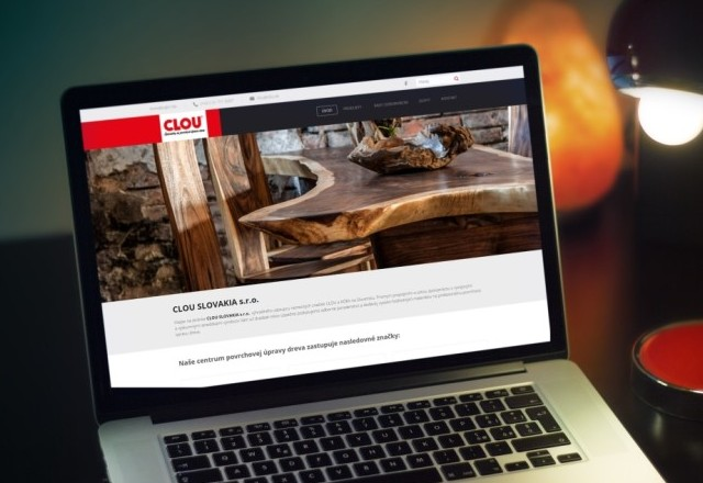 CLOU Slovakia, s.r.o. - webstránka spoločnosti