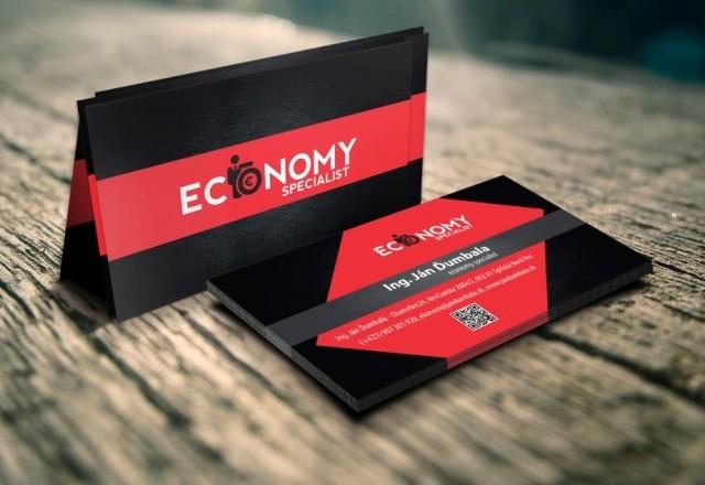 ECONOMY specialist - vizitky pre spoločnosť