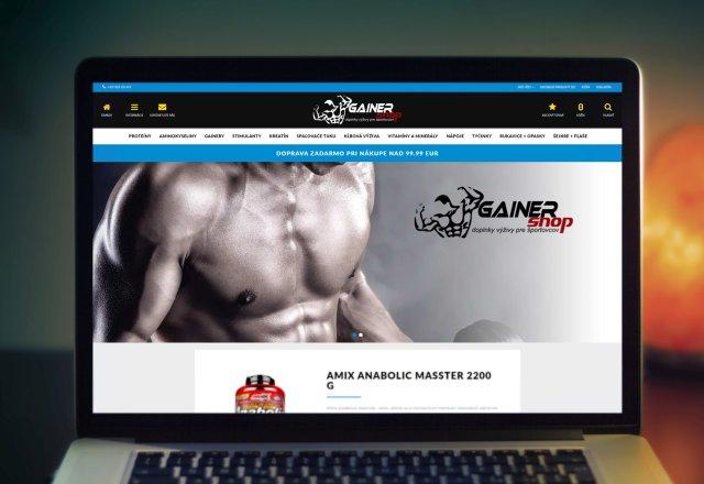 GainerShop.sk - internetový predaj výživových doplnkov