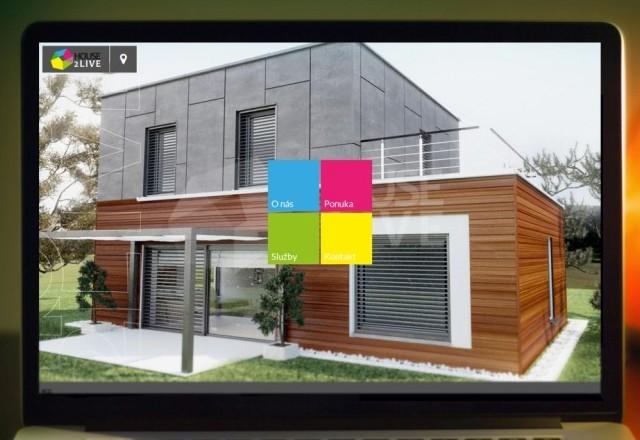 House2Live s.r.o. - webstránka pre spoločnosť