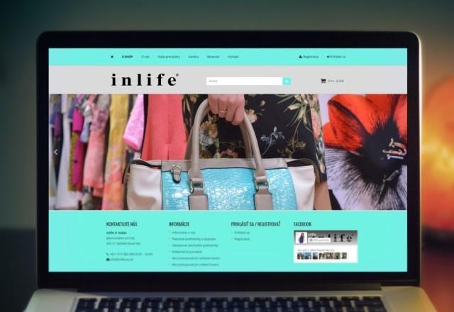 inlife móda - internetový obchod značky inlife