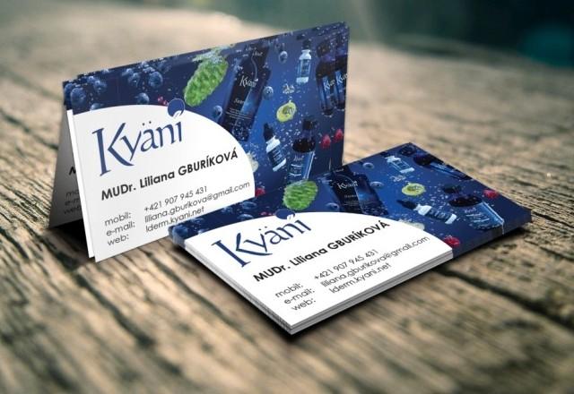 Kayani - vizitky pre spoločnosť