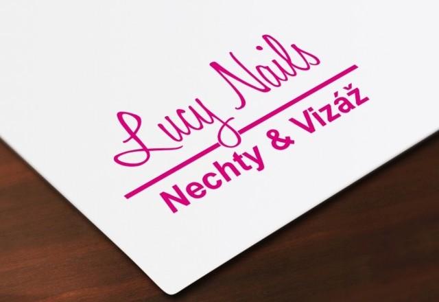 Lucy & Nails - logo pre kozmetické štúdio