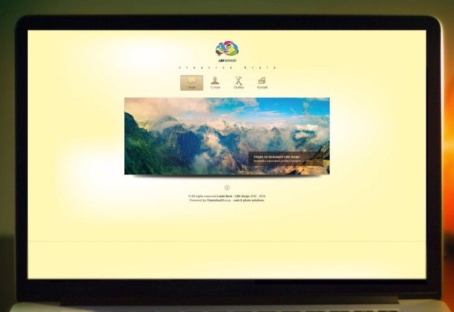 LBK Design - webstránka pre designéra