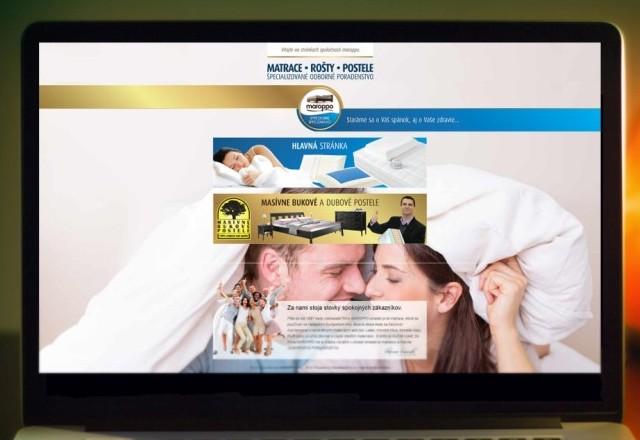 MAROPPO - webstránka pre spoločnosť