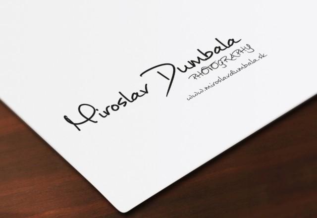 MD Photography - logo pre fotografa