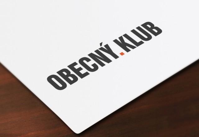 Obecný KLUB Švábovce - logo pre reštauračné zariadenie