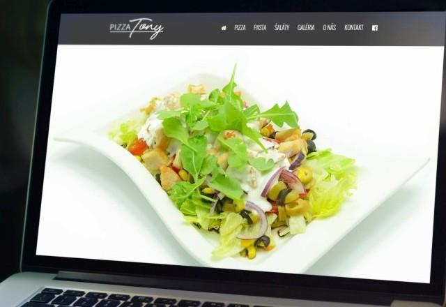 Pizza TONY Smižany - web stránka pizzerie kde aj Chameleo24 ma svoju pizzu
