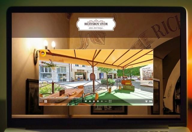 Richtárov dvor - mestská kaviareň - Webstránka pre Miesto, ktoré zbližuje...