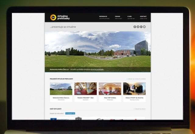 Virtualneprehliadky.com - webstránka pre spoločnosť
